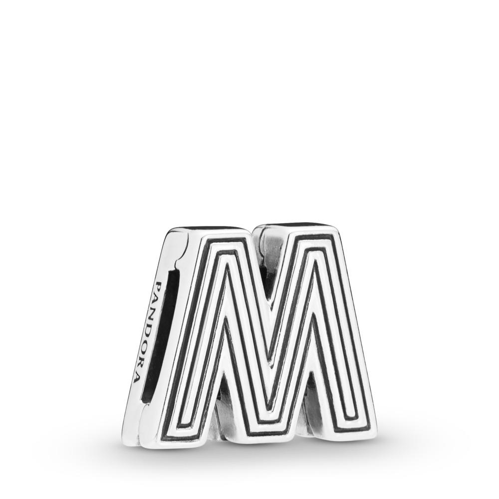 PANDORA REFLEXIONS™ Letter M Clip