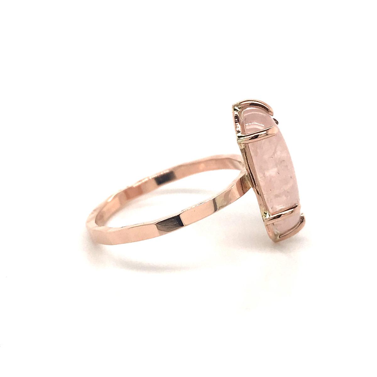 Mettle 14k Rose Gold Quartz Ring 001 200 00987 14kr Marietta David Douglas Diamonds Jewelry Marietta Ga