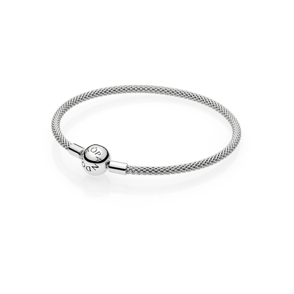 Pandora Moments Mesh Bracelet Size 7.5