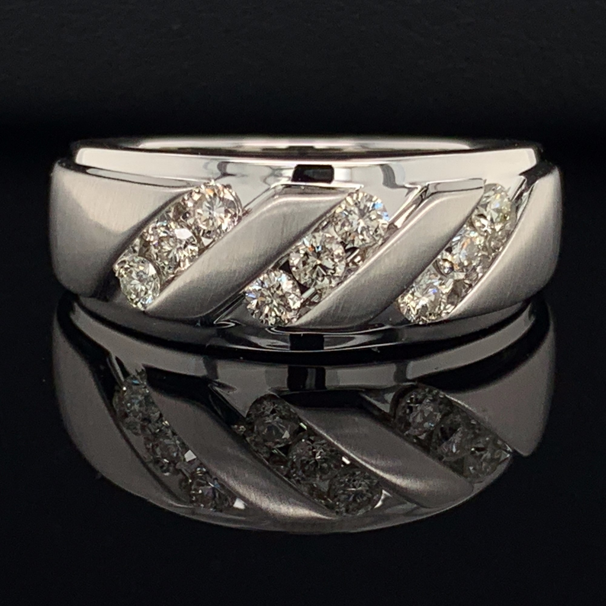 قطع غير عادي كسوف الشمس Mens Silver And Gold Wedding Rings Mens Gold And Silver Wedding Bands Psidiagnosticins Com