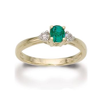 Oval Emerald Diamond Ring 001 200 05234 Koser Jewelers Koser Jewelers Mount Joy Pa