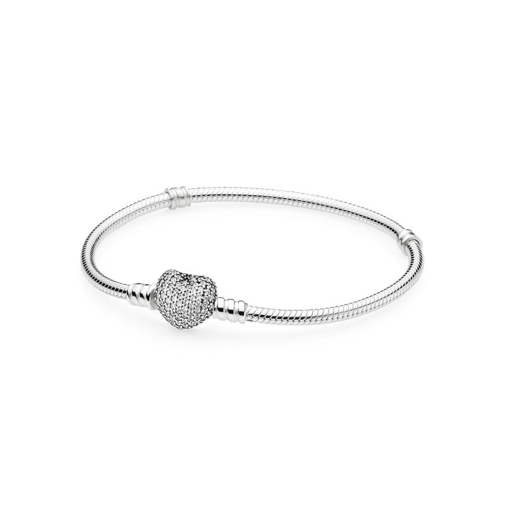 Pandora Jewelry Pandora Heart Pave Bracelet 001 555 01064 Your Jewelry Box Altoona Pa